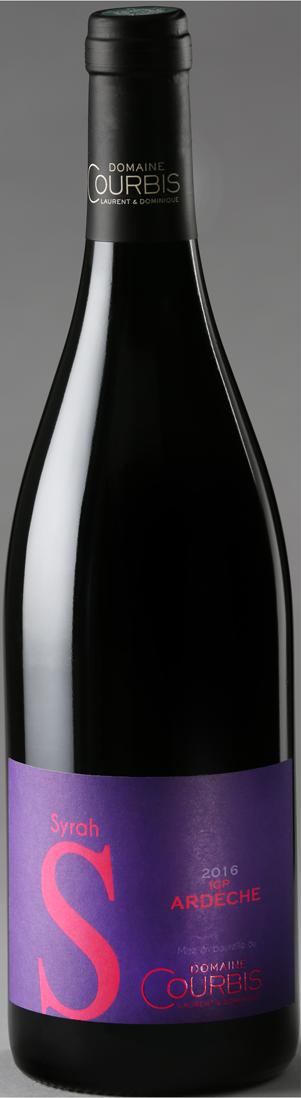 Vin de Pays I.G.P. Syrah Domaine Courbis Rouge